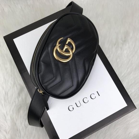 cab2dcb25418 Gucci Bags   Gg Marmont Matelass Belt Bag   Poshmark